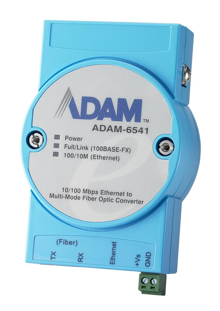 Advantech ADAM-6541 - Media Converter Ethernet to SC Multi-Mode Fibre 100Mbps 1310nm 2km