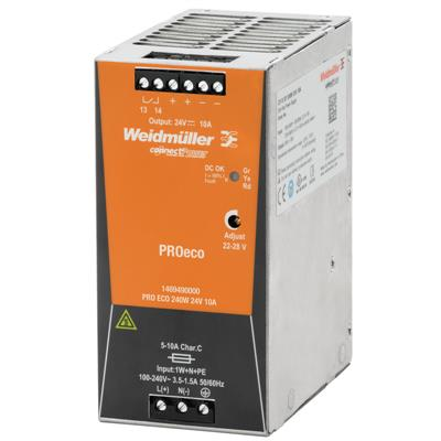 Weidmuller 1469490000 - PRO ECO 240W 24V 10A
