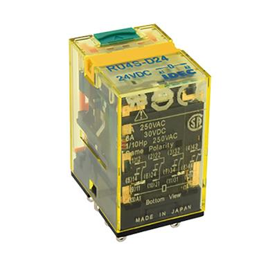 Idec Relay Plug-In 4PDT 6A 120VAC