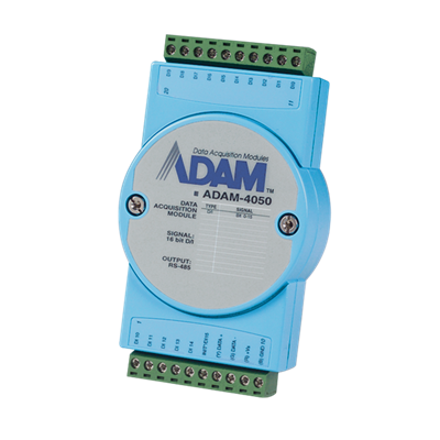 Advantech ADAM-4050 - 7xDI/8xDO RS-485 Remote I/O Module