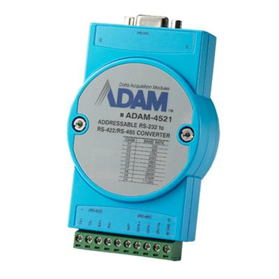 Advantech ADAM-4521 - Isolated RS-422/485 to RS-232 Converter Addressable